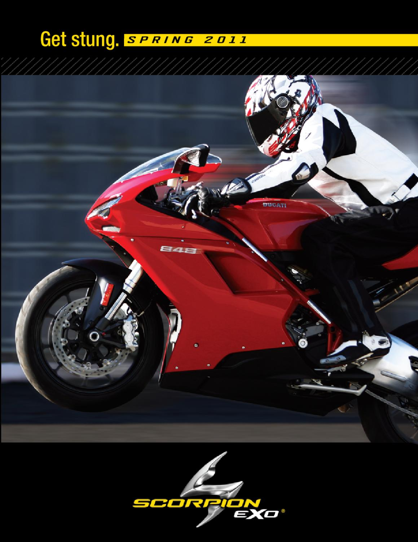 Phantom Scorpion Hat Trick II Mens Textile Vented Street Racing Motorcycle Jacket 2X-Large