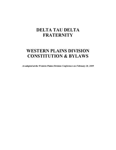 Fraternity Constitution And Bylaws Image Gallery - Hcpr
