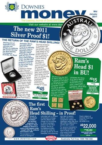 2010 Centenary of Coinage $1 PNC Cat $20 Australia