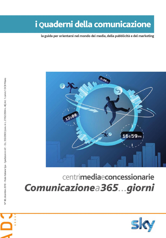 I Quaderni della Comunicazione 2010 - Centri Media e Concessionarie by ADC  Group - issuu e5ad9871e201