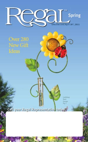 e390bb8a7 Regal Spring Catalogue by Regal Home & Gifts Inc. - issuu