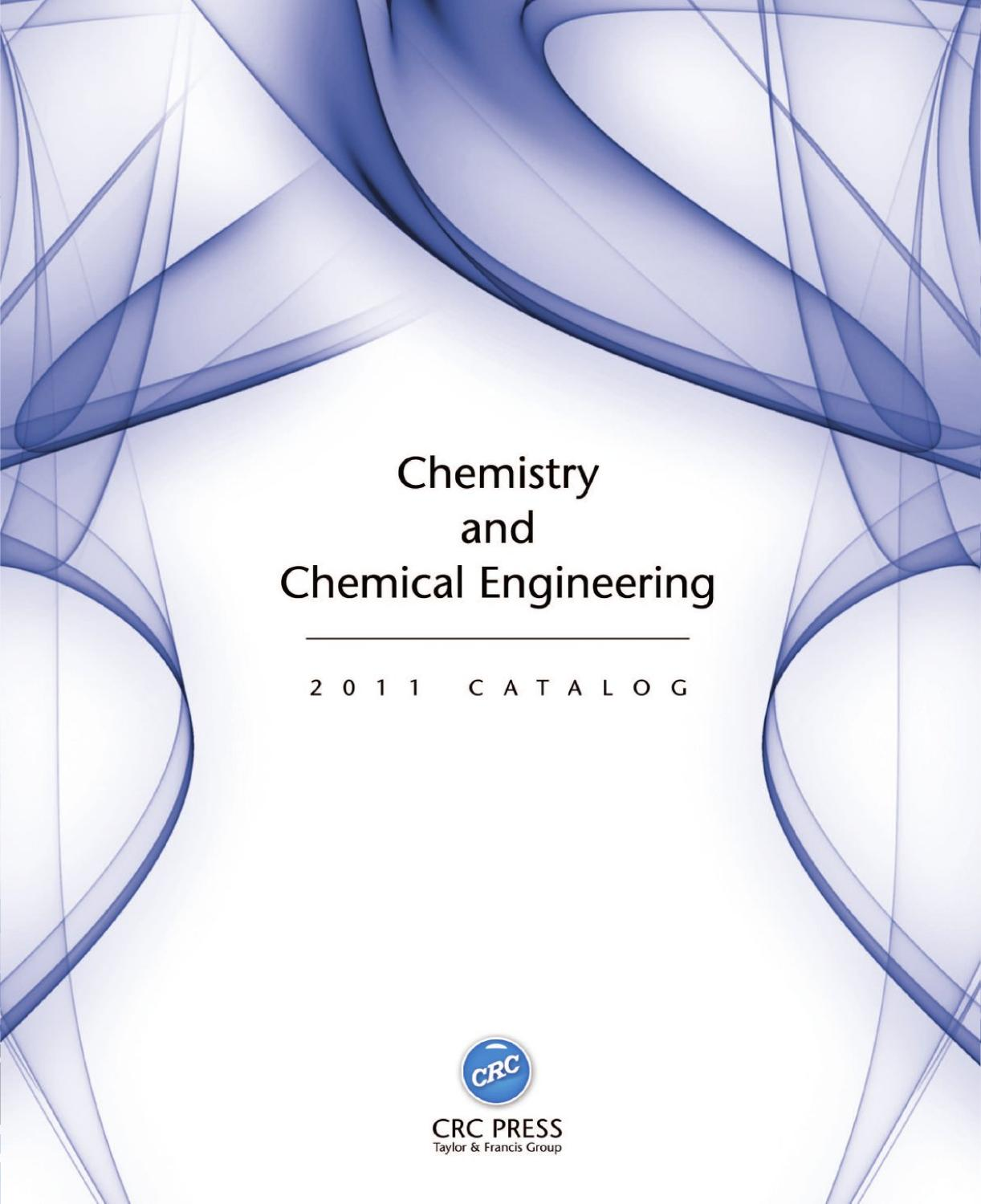 Chemistry and chemical engineering by crc press issuu fandeluxe Choice Image