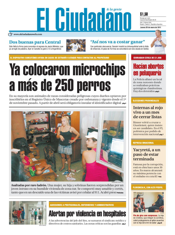 f6ebb9bae5b0 Edición 20 de enero by Dario Elciudadano - issuu