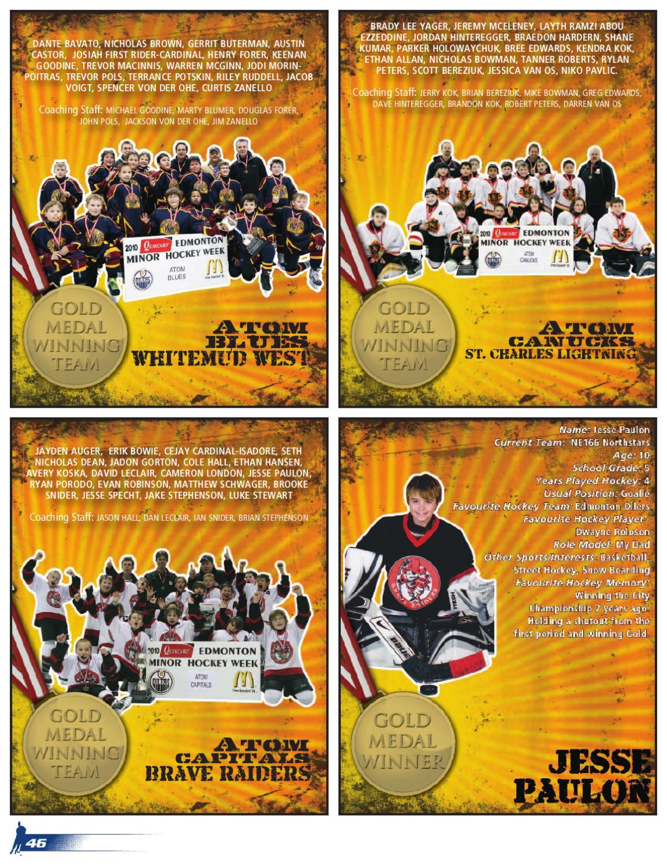 Hockey Magazine Edmonton 2011 Yearbook Edition By Suggitt