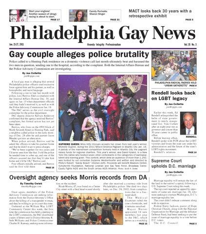 Richard genzer homosexual rights