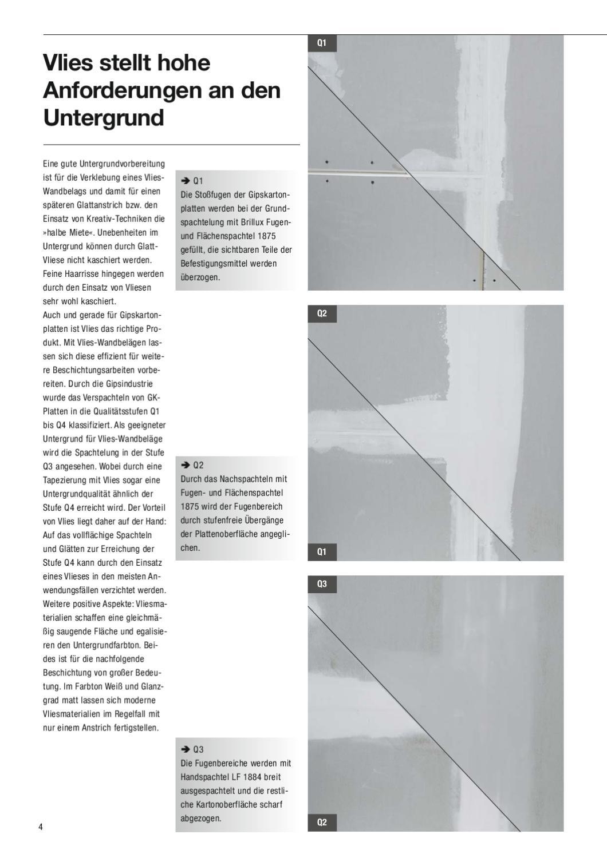 brillux vlies wandbel ge by brillux issuu. Black Bedroom Furniture Sets. Home Design Ideas