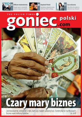 deb5a5f7ae4a9 Goniec Polski 359 Czary mary biznes by Goniec Polski - issuu