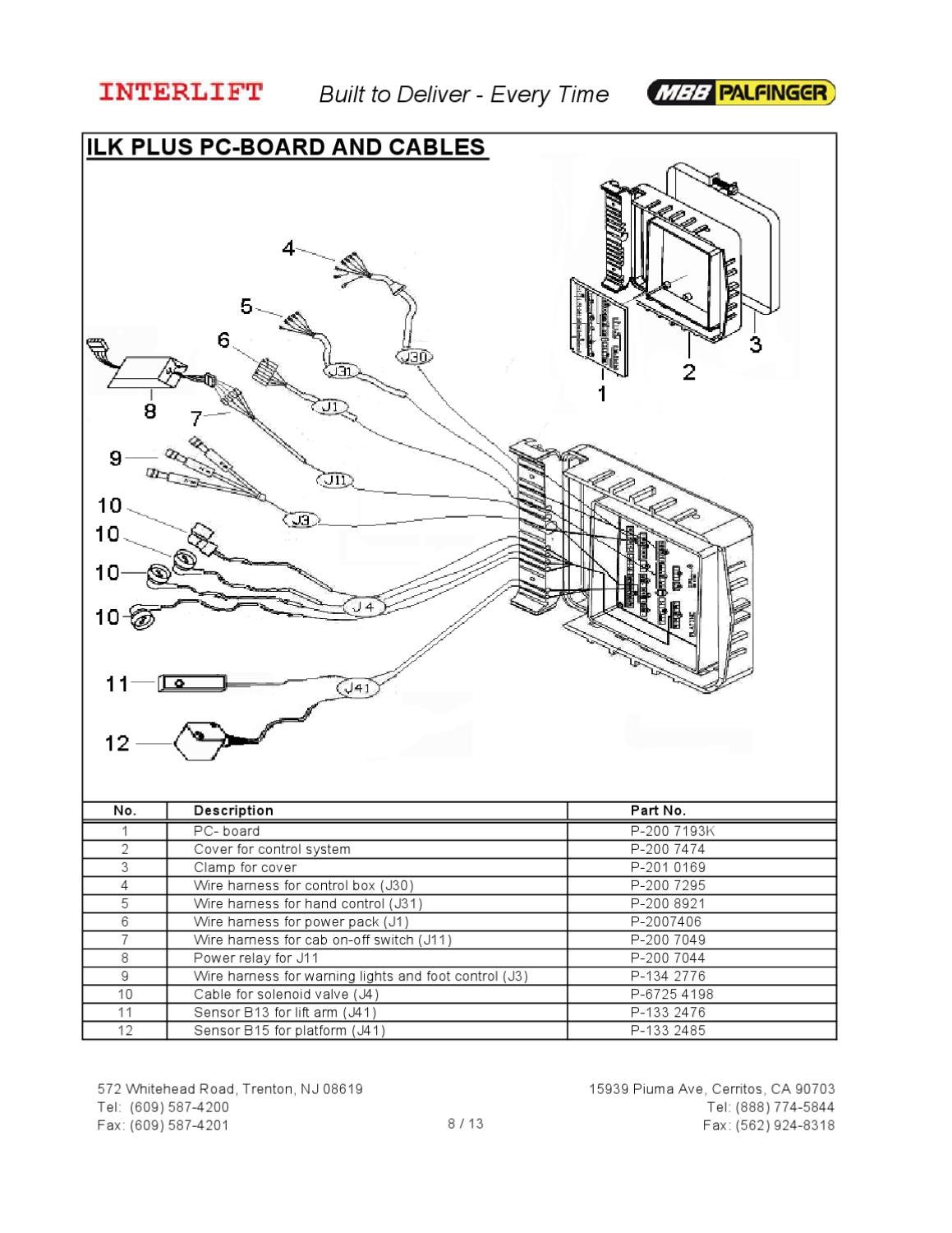 page_8 interlift ilk series liftgate by the liftgate parts co issuu mbb interlift wiring diagram at bayanpartner.co