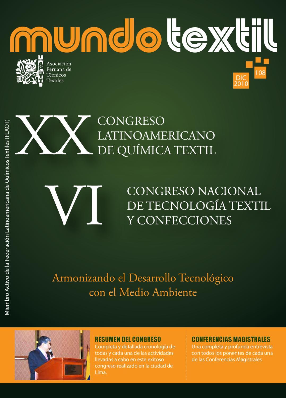 Revista Mundo Textil Edicion 108 By Asociacion Peruana Issuu