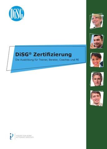 DiSG-Zertifizierung by DIM Deutsches Institut für Marketing GmbH - issuu
