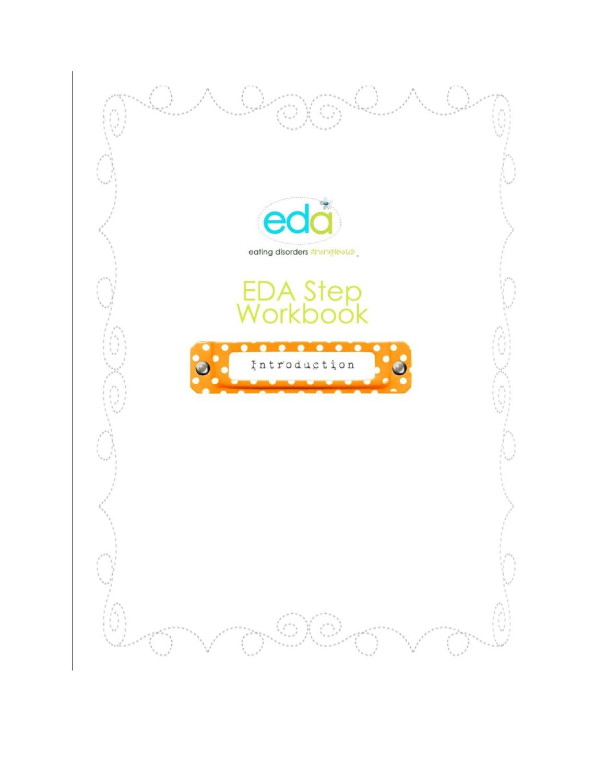 Workbooks eating disorder workbook : Introduction Workbook by EDA - issuu