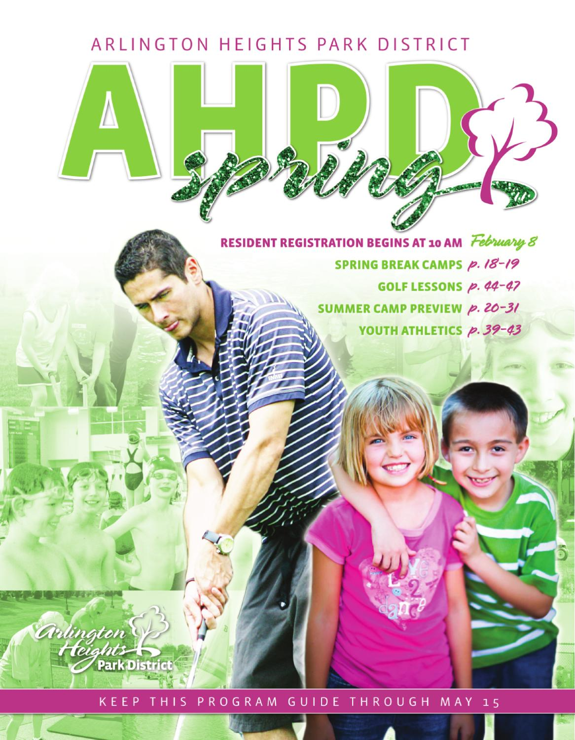 AHPD Spring 2011 Interactive Program Guide by Arlington Heights Park