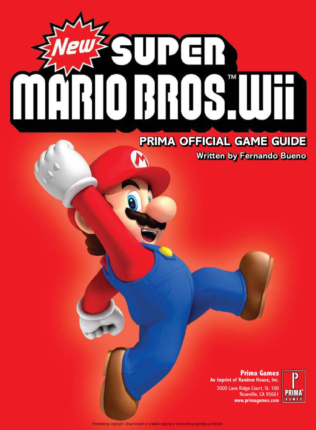 New Super Mario Bros Wii By Paco Min Issuu