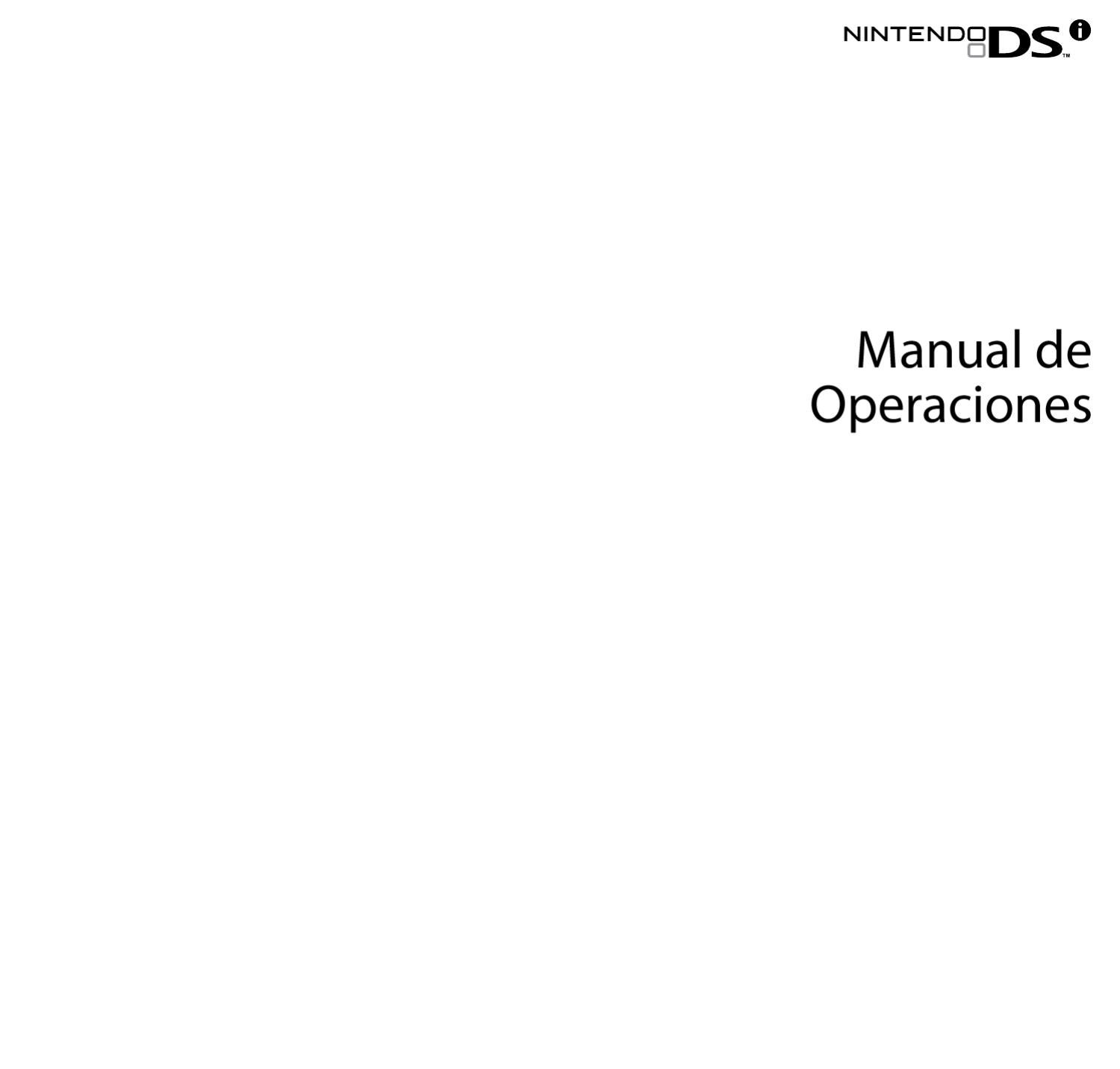 manual de operaciones para nintendo dsi by ronald caruci issuu rh issuu com Dsi Charger Dsi Charger