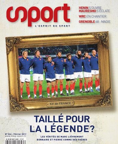 Sport Issuu février On N°246 2011 By Magazine q1UO6qw