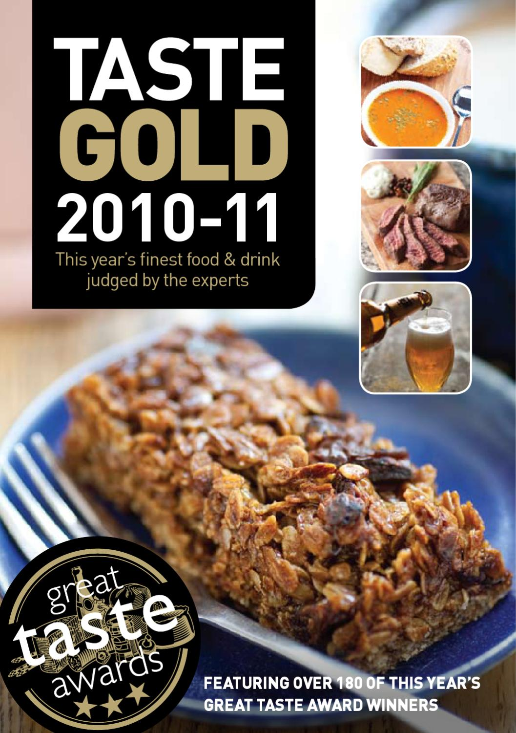 Taste Gold 20 20 by Guild of Fine Food   issuu
