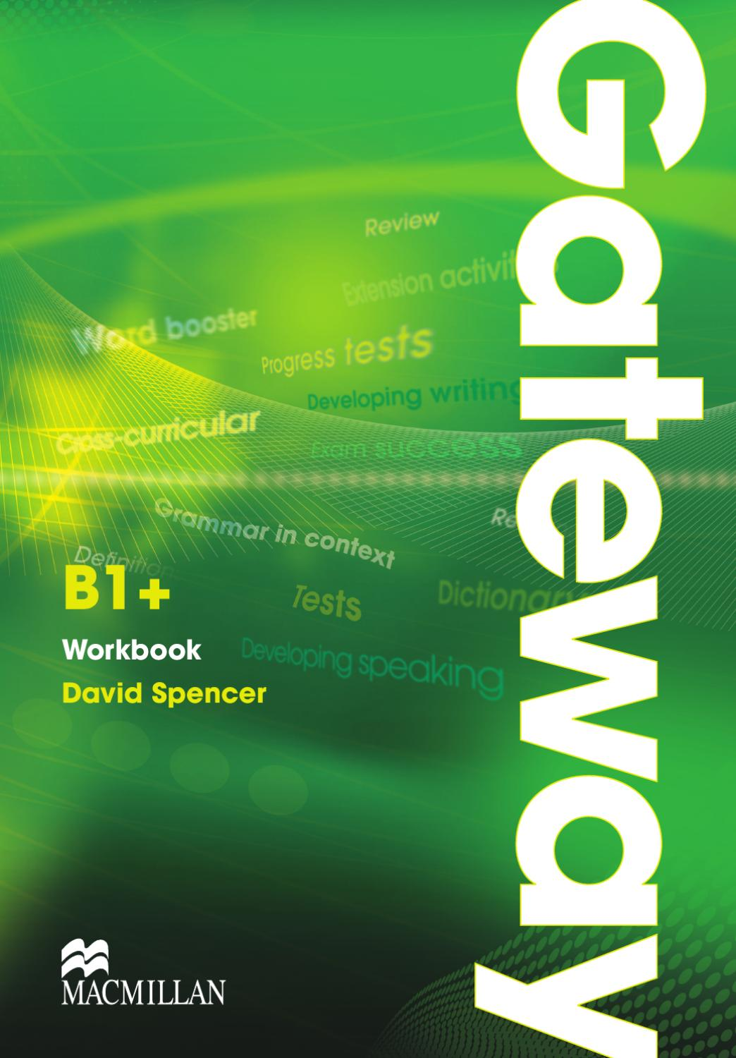 gateway b1  workbook unit 1 by macmillan education
