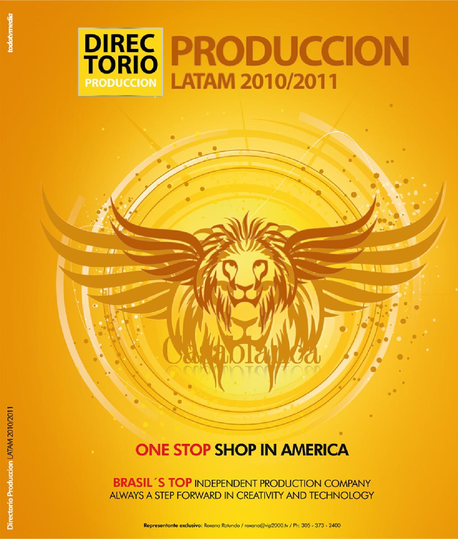 82996f9f81 DIRECTORIO PRODUCCIÓN | 2010 – 2011 by TodotvMedia - issuu
