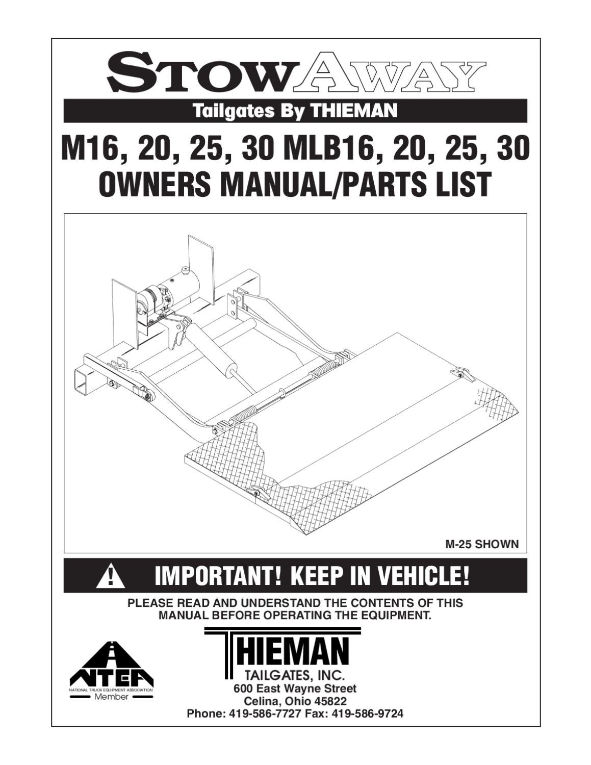 wrg 7511] thieman lift gate wiring diagram  thieman lift gate wiring diagram 4614d #13