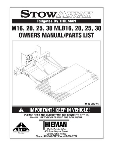 page_1_thumb_large thieman liftgate troubleshooting wiring diagrams wiring diagrams thieman liftgate wiring diagram at crackthecode.co