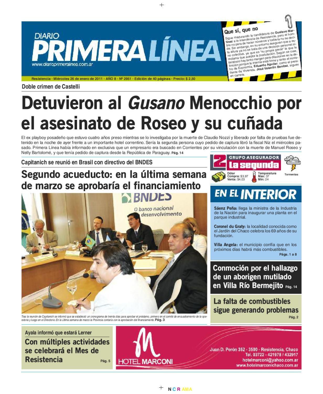 Primera Linea 2951 26-01-11 by Diario Primera Linea - issuu