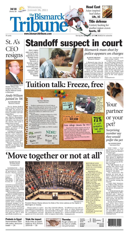 Bismarck Tribune Jan 26 2011 By Issuu Kompresor Mazda Lantis Familia Exsin