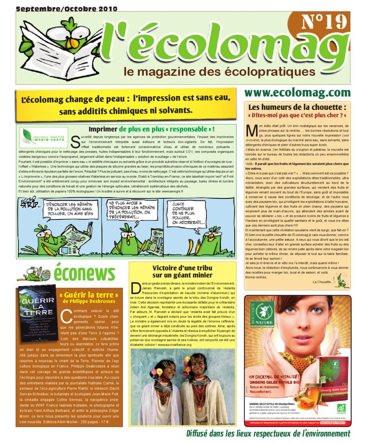 Ecolomag N°19 by L Ecolomag - issuu d62285743219
