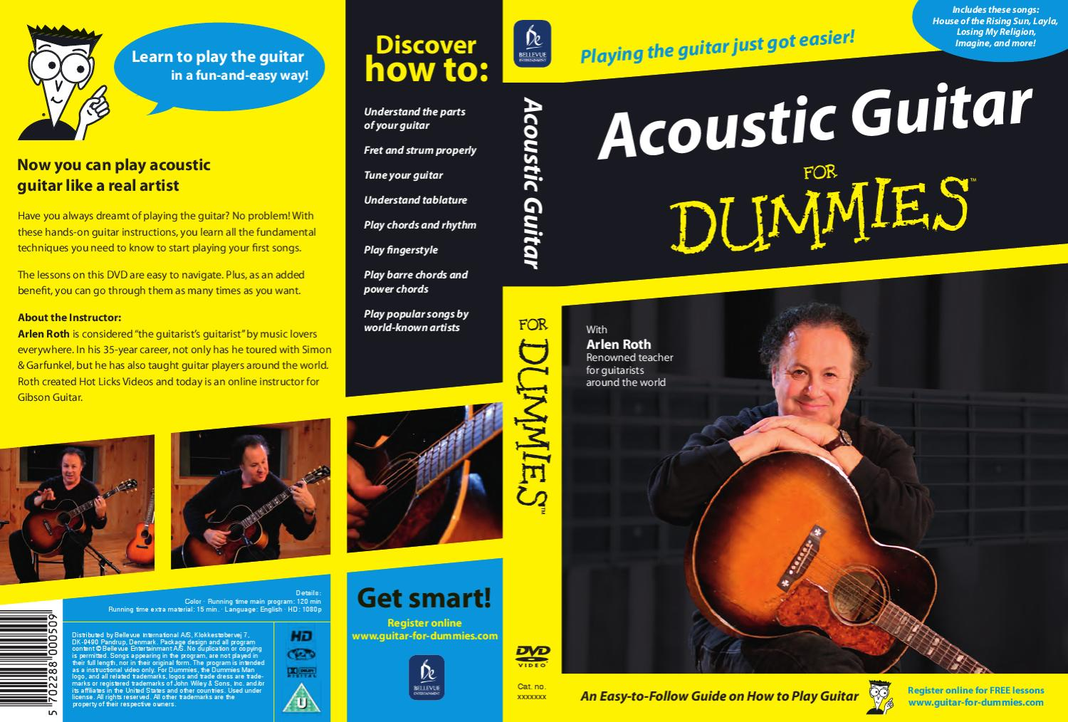 guitar for dummies artwork by bellevue entertainment a s issuu. Black Bedroom Furniture Sets. Home Design Ideas