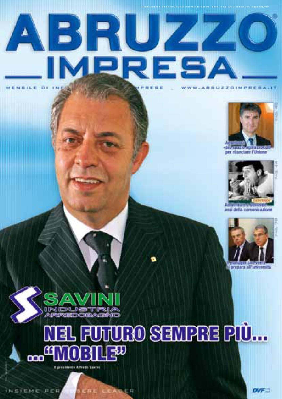 luglio-agosto 2007 by abruzzo impresa - issuu - Arredo Bagno Abruzzo