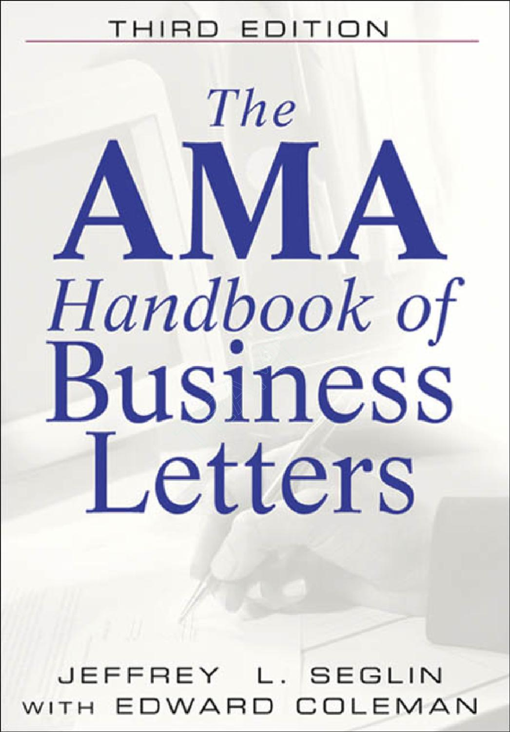 Business Letters by Ahmed Imthias - issuu