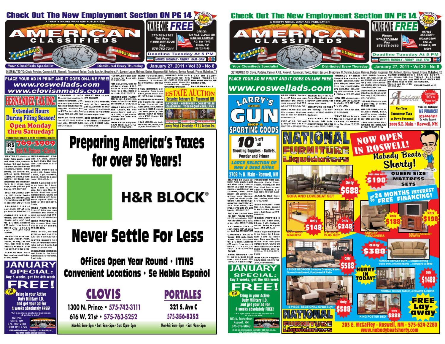 Thrifty Nickel/american Classifieds by EZAds of USA - issuu