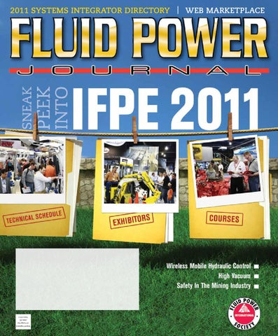 Fluid Power Journal Systems Integrator Directory 2011 by Innovative