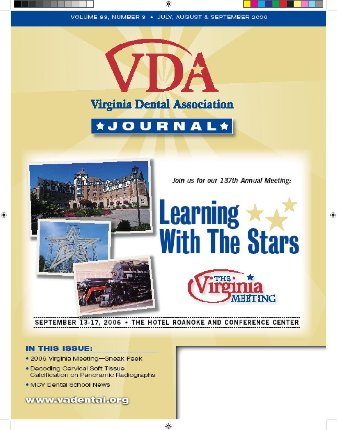 Virginia Dental Journal by Virginia Dental Association - issuu