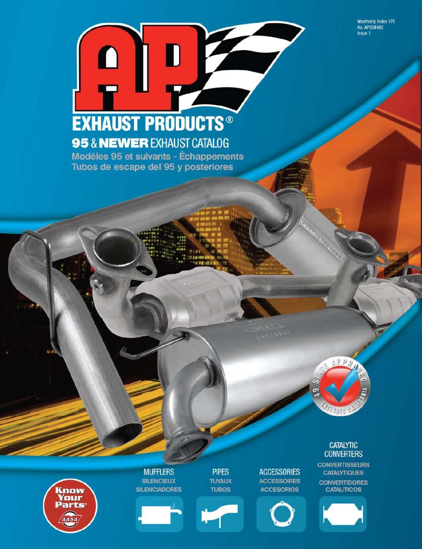 Fits  95-97 Metro 1.0 1.3 4 Door Middle Resonator /& Muffler Exhaust System NEW