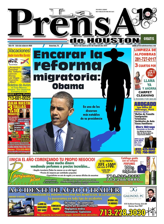 LA PRENSA DE HOUSTON 468 by La Prensa de Houston - issuu