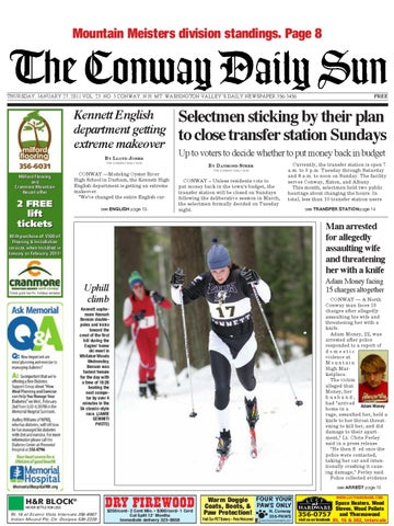 The conway daily sun thursday january 27 2011 by daily sun issuu page 1 malvernweather Gallery
