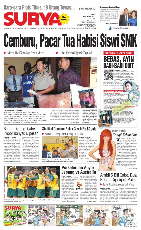 Surya Edisi Cetak 27 Januari 2011 By Harian Issuu Produk Ukm Bumn Tas Phiton Kembang Orchid