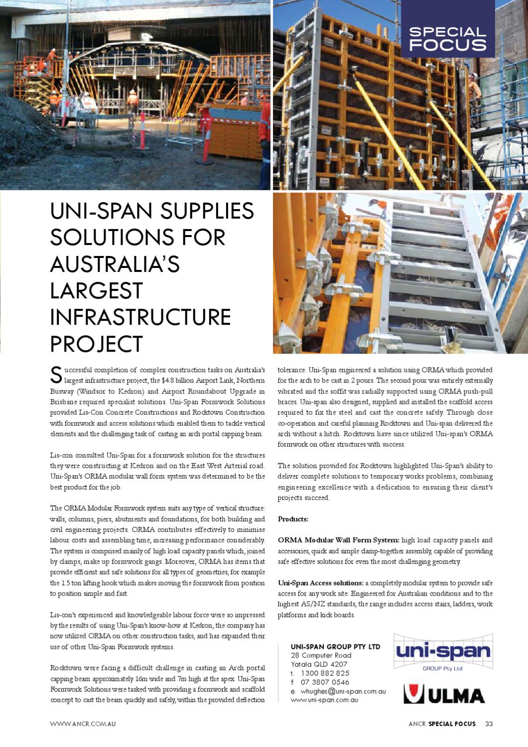 The Australian National Construction Review by Trade Media