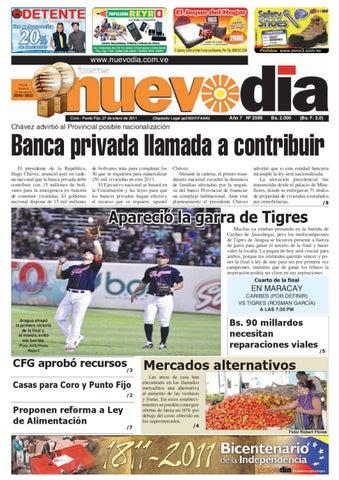 Diario Nuevodia Jueves 27-01-2011 by Diario Nuevo Día - issuu 10cb3da6579b0