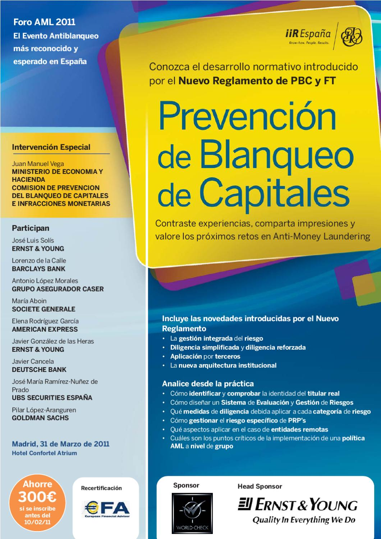 Programa prevenci n de blanqueo de capitales por iir - Caser grupo asegurador ...