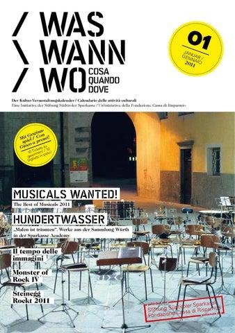 Www201101 By Stiftung Südtiroler Sparkasse Issuu