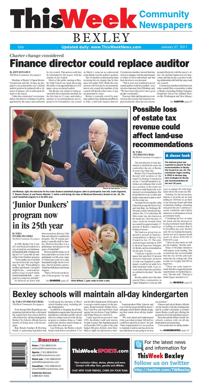 29023da330 1 27 11 ThisWeek Bexley by The Columbus Dispatch - issuu