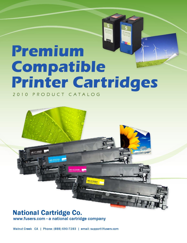 Toner And Ink Cartridge Compatalog By Kenneth Brilliant Issuu Hp Laserjet 24k Black Cc364x