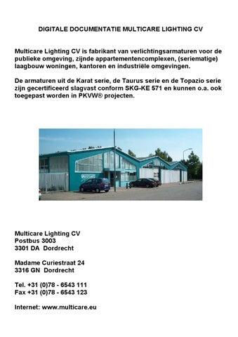 Multicare Lighting documentatie overzicht by Peter Mul - issuu