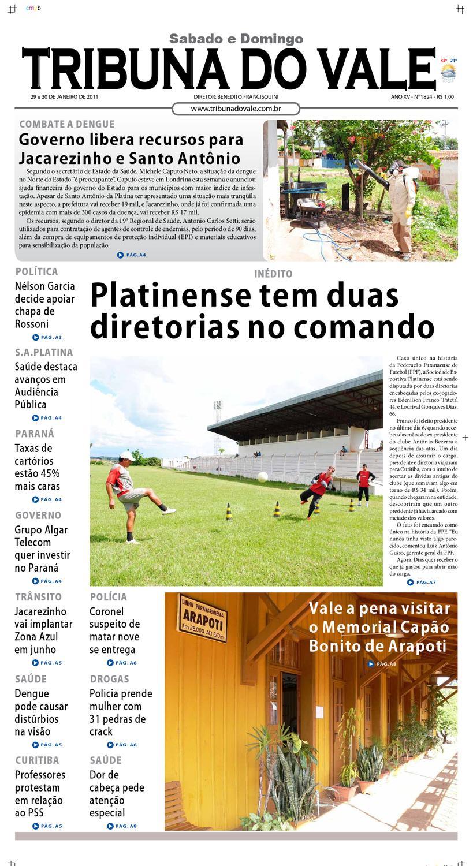 37d02e6505a56 TRIBUNA DO VALE EDIÇÃO Nº 1824 by Tribuna do Vale - issuu