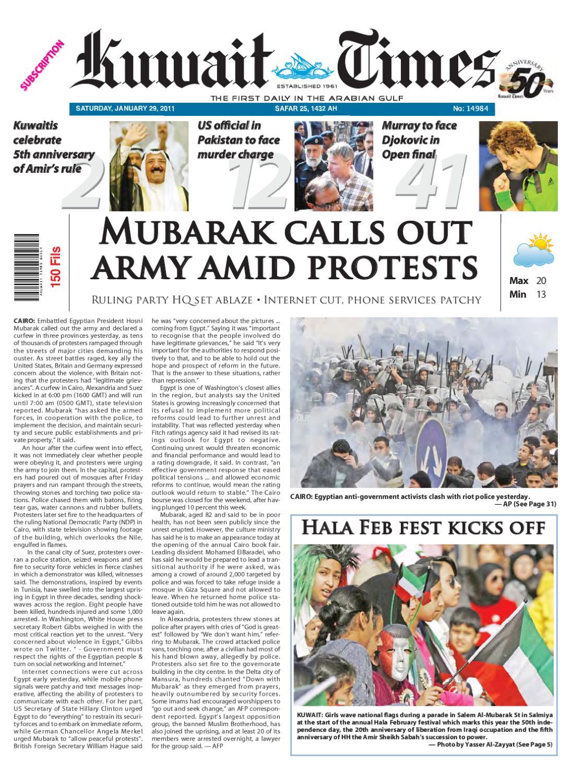 29 Jan By Kuwait Times Issuu