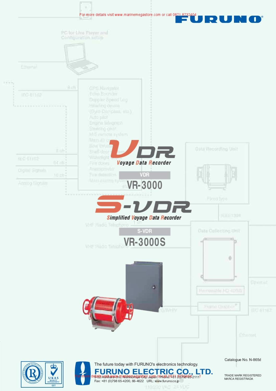 Voyage Data Recorder : Furuno deepsea simplified voyage data recorder s vdr for