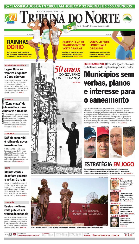 5526ed899 Tribuna do Norte - 30/01/2011 by Empresa Jornalística Tribuna do Norte Ltda  - issuu