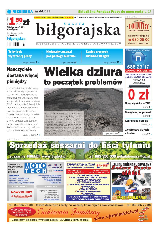 9b2169f339f634 Gazeta Biłgorajska 04-054 by Damian Wolanin - issuu
