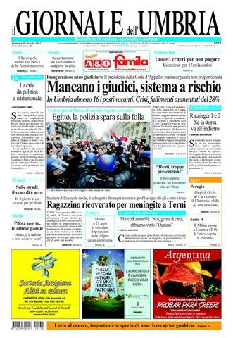 Giornale dell Umbria by Roberto Campagnoli - Issuu